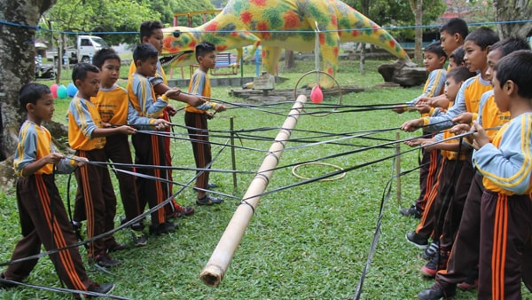 Outbound Anak di Malang Batu